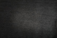 Texture noire de jeans Photo stock