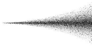 Texture noire de la poussière de jet de sol de vecteur pulvérisateur illustration libre de droits