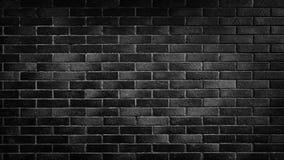 Texture noire de mur de briques, surface de brique pour le fond Papier peint de cru photos libres de droits
