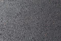 Texture noire de surface de macadam de route goudronnée Images libres de droits