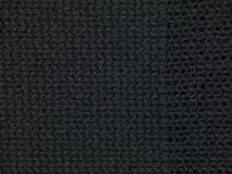 Texture noire de tissu Image stock