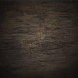 Texture noire en bois de mur Images stock
