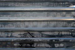 texture noire en métal images libres de droits