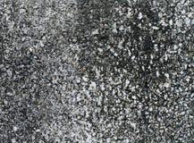 Texture noire et blanche approximative abstraite/fond de mur en béton Photos libres de droits