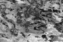 Texture noire et blanche de marbre Photos libres de droits