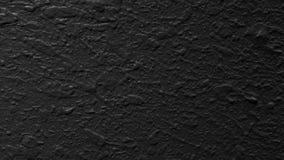 Texture noire et blanche de peinture avec des bosses Photos libres de droits