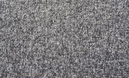 Texture noire et blanche de tissu Image libre de droits