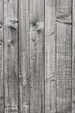 Texture noire et blanche en bois de fond Photographie stock