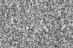 Texture noire et blanche polie de granit Photos libres de droits