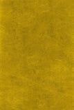 Texture normale de cuir d'or Image libre de droits