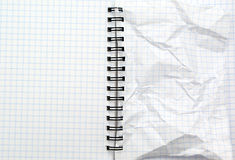 Texture of note pad Royalty Free Stock Photography