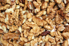 Texture of nuts Stock Image