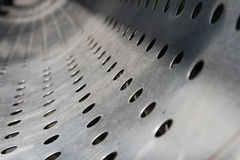 Texture o aço inoxidável Fotografia de Stock Royalty Free