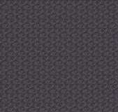 Texture a obscuridade da ilusão 3d - teste padrão sem emenda cinzento Fotografia de Stock Royalty Free