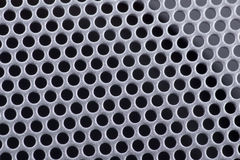 Texture Of A Perforated Metal Stock Image