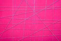 Free Texture Of A Pink Abstract Wall With White Geometric Lines Royalty Free Stock Image - 101418496