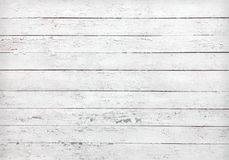 Texture Of Blank White Old Wooden Planks Stock Photos