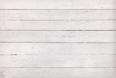 Texture Of Blank White Old Wooden Planks Royalty Free Stock Photography