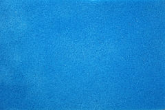 Texture Of Blue Foam Rubber Royalty Free Stock Photography
