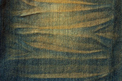 Texture Of Jeans Cloth Stock Photos