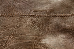 Texture Of Leather Royalty Free Stock Photos