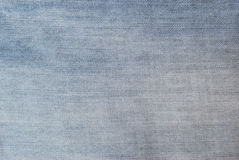 Texture Of Light Blue Jeans Stock Image