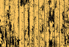 Texture Of Realistic Yellow Old Painted Wooden Fence Stock Photos