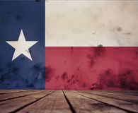 Texture Of Texas Flag. Royalty Free Stock Photo