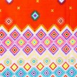 Texture Of Thai Silk Pattern, Royalty Free Stock Photos