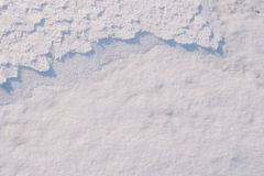 Free Texture Of The Snow. Pattern  5 Royalty Free Stock Photo - 12085075