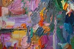 Texture oil painting. author painting Roman Nogin. Stock Photos