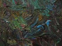 Texture oil painting, painting author Roman Nogin Royalty Free Stock Photography