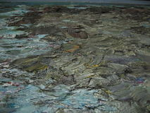 Texture oil painting, painting author Roman Nogin Stock Photos