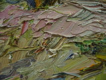 Texture oil painting, painting author Roman Nogin Stock Images