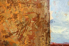 Texture of oil painting relief strokes, canvas. Texture of oil painting. relief strokes, canvas, acrylic, oil. bright colors, the texture of brush strokes stock photo