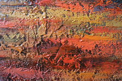 Texture of oil painting relief strokes, canvas Stock Images
