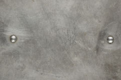 Texture of the old aluminum surface Stock Photography