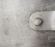 Texture of the old aluminum surface Stock Photos