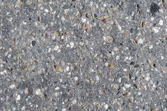 Texture of an old asphalt road royalty free stock photo