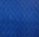 Texture of the old blue metal door Kremlin, Kazan, Tatarstan Royalty Free Stock Photo