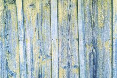 Texture of old boards with exfoliate coloring Stock Photos