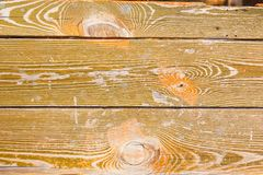 Texture of old boards of olive color stock image