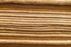 Texture of old book pages Stock Photos