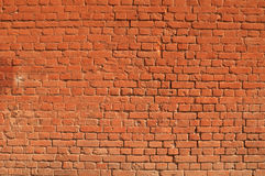 Texture of old  brick red wall Stock Photo