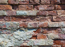 Texture of old brick Stock Photos