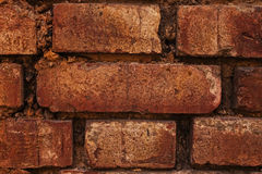 Texture of a old brick wall Stock Photography