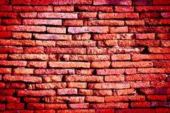Texture of old brick wall. At Ayudhaya near Bangkok, Thailand royalty free stock photo