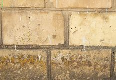 Texture of old brick wall royalty free stock images