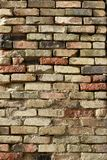 Texture of old brick wall stock photos