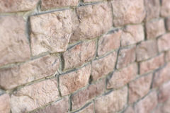Texture of old brick wall Stock Photography